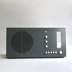 Braun electrical - Audio - Braun RT 20 tischsuper (pear wood / graphite)