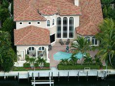 Adobe House Plans & Southwestern Home Design Outdoor Living Photo 01 - Florida House Plans, Coastal House Plans, Luxury House Plans, Florida Home, Coastal Homes, Italian Style Home, Tuscan Style Homes, Southwestern Home, Mediterranean House Plans