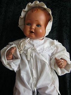 Sehr alte Puppe Junge Strampelchen? von Schildkröt in Größe 48. alte Kleidung 2