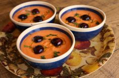 Sopa fria tomate y cerezas by El Comidista