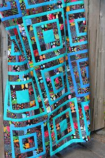 What a great idea for using up scraps. Quilting is more fun than Housework...: Making Progress on the Scrap Front.