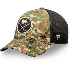 los angeles 00bf7 3c15d Men s Buffalo Sabres Fanatics Branded Camo Authentic Pro Military  Appreciation Speed Flex Hat, Your Price