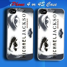Michael Jackson Invincible Custom iPhone 4 or 4S Case Cover