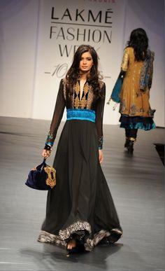 for the love of anarkali, Lakmé Fashion Week Pakistani Couture, Indian Couture, Pakistani Outfits, Indian Outfits, Lakme Fashion Week, India Fashion, Ethnic Fashion, Asian Fashion, Lehenga Choli