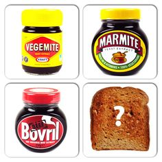 What do you have on your toast? Marmite, Bovril or Vegemite? No contest! Yeast Extract, Marmite, After Life, English Food, Toast, Veggies, Vegetarian, Beef, Meat
