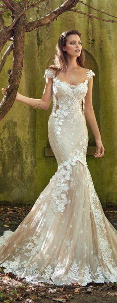 9c50e31cbf7b Galia Lahav 2017 Bridal Collection : Le Secret Royal II. Bröllopsdesserter Klänning ...