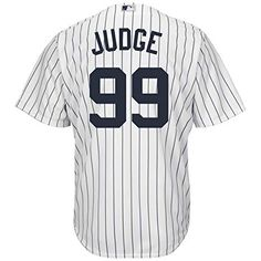 4b17f2cc6 Outerstuff Aaron Judge New York Yankees  99 Youth Cool Base Home Jersey (Youth  Medium
