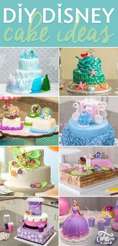 DIY Disney Cake Ideas.