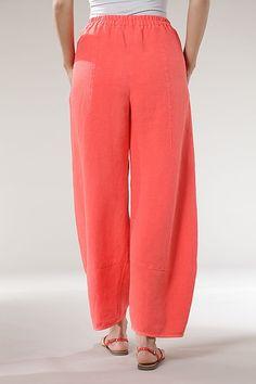Trousers Benita -100% Linen