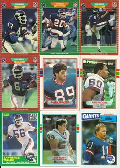 Some of the 1986 NY Giants - champions of XXI - New York Giants Logo, New York Giants Football, Nfl Football Players, My Giants, Football Love, Steelers Football, Ny Yankees, Phil Simms, Football Quotes