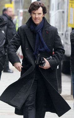 Our Store is exclusively presenting Sherlock Holmes Wool Cape Coat For Men Worn by Benedict Cumberbatch in TV-Series Sherlock Holmes Made from 100% Wool Fabric Available at Discounted Price.