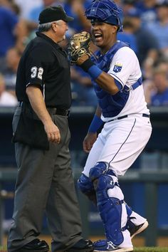 Here's why Royals catcher Salvador Perez wears perfume when he's behind the plate