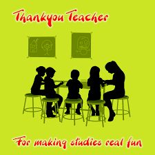 Image result for thank u getting card  for teachers days wishes