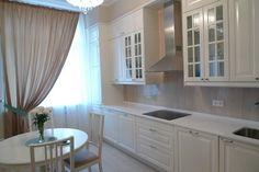 Кухня 28 Снежана ,белая на заказ Киев