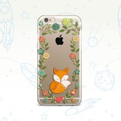 iPhone Fox Case iPhone 6 Case  iPhone 6S wonderful Case  iPhone 6s  iPhone 5S Flowers  Samsung Galaxy S5 Fox Case Samsung Galaxy S4 Fox case