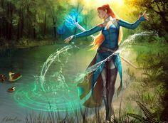 Yvette by Mathia Arkoniel | Fantasy | 2D | CGSociety