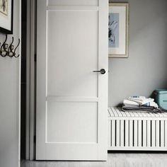 JELD-WEN 36 in. x 96 in. Moda Primed White 3-Panel Solid Core Wood Interior Door Slab-THDJW221100012 - The Home Depot