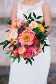 We dive into some stunning colorful flower inspiration! Why you should choose colorful wedding flowers