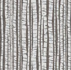 Birch Trees (small size) fabric by sarah_treu on Spoonflower - custom fabric