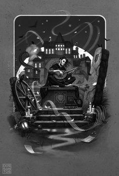 Galería de ilustraciones de la nueva edición de El nombre del viento
