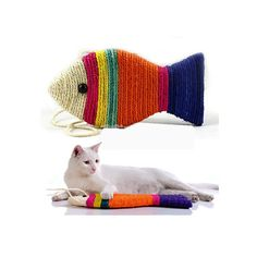 Leorx Cat Scratch Board Scratching Pad Play Toy Fish Shape (Random Color) >>> Check this awesome product by going to the link at the image. (This is an affiliate link and I receive a commission for the sales)