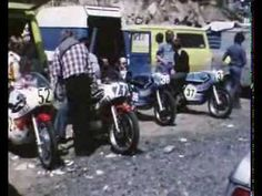 GRAND PRIX DE FRANCE MOTO 1974 CHARADE Clermont Ferrand - YouTube