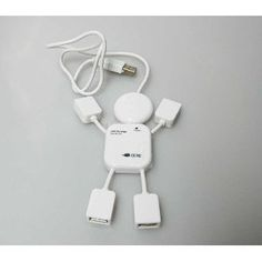 Cute 4 Port USB Plug Hub - Human Doll Design! by Neewer. $4.07. Features: Fully Compliant with USB Specification for 4 USB Ports Plug & Play installation Support Windows 98/2000/ME/XP/vista/7 LED Indicator. With the USB 4 Port USB you can add four USB peripherals to your computer and sanve desktop space. Color:White.  Condition & Warranty: This item is 100% brand new!! 3 months Warranty By Seller.  Package Contents: 1 x Humanoid Design Hub