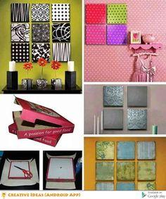 Creative Interior Pizza Box Crafts Diy Wall Art Decor Artwork