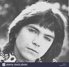 David Cassidy, teen idol, television actor in a 1971 photo. A member of THE PARTRIDGE FAMILY, television series - Stock Image