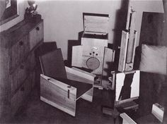 Man Ray's Studio, 2 bis rue Férou, c 1950.