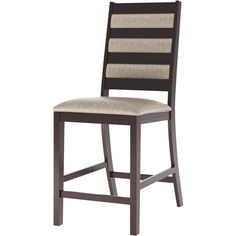 CorLiving - Fabric / Hardwood Chairs (set of 2) - Cappuccino/Platinum sage, DWP-360-C