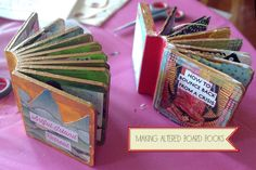 art journal friday – altered board books