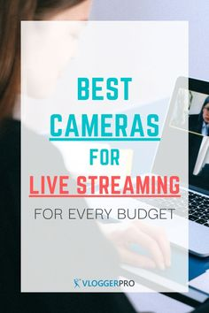 These are the best live streaming cameras that you can get to stream whatever you want. If you're a gamer, online teacher, remote worker, or you want to stream your church services, you'll find these reviews useful.