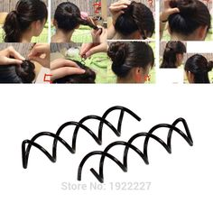 10Pcs/Set Fashion Womens Spiral Spin Screw Pin Hair Clip Twist Barrette Ladies Girls Hair Accessories