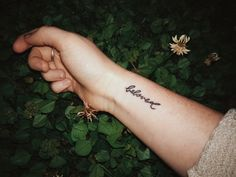 Beloved by Toni Morrison 20 Literary Tattoos That Can Melt Every Book Lover& Heart Forearm Word Tattoo, Tattoo Word Fonts, Small Forearm Tattoos, Wrist Tattoos, Small Tattoos, Tiny Tattoo, Arm Tats, Hp Tattoo, Tattoo Pain