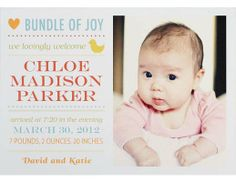 birth announcement from paper source  do people still mail birth announcements?