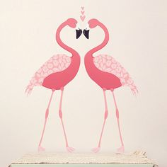#Flamingo Artwork - your fun retro touch