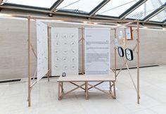 NEXT CABANE by Mudam Exhibition Display, Exhibition Space, Museum Exhibition, Display Design, Booth Design, Mesa Exterior, Art Moderne, Environmental Design, Retail Design