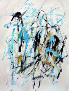Julie Schumer Winter Sky I, 30 X 22, mixed media paper, www.julieschumer.com