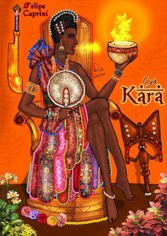 Oya Kara (Wife of Shango)