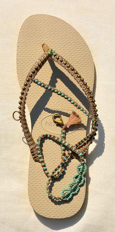 Sandals Boho Shoes Flip Flops Bohemian Shoes Women