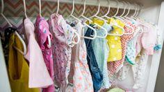 DIY Baby Wardrobe Closet