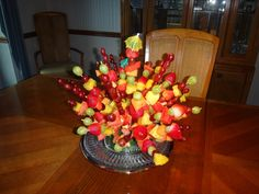 Fruit Kabobs I made for a Luau Party today Fruit Party, Luau Party, Beach Party, Salad Packaging, Teenage Parties, Fruit Logo, Fruit Skewers, Yogurt Smoothies, Veggie Tray