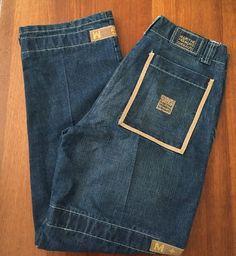 EUC Marithe Francois Girbaud Shuttle Tape Jeans Mens Size 34M 34x34 | eBay