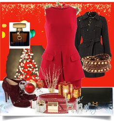 """""""READY FOR CHRISTMAS"""" by marcellachristian97 on Polyvore"""