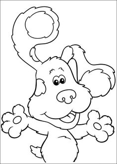 hands on hips blues clues a clue pinterest - Blues Clues Magenta Coloring Pages