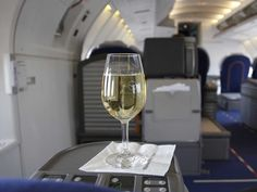 """Here's why wine tastes different when you're on a plane - Wine is increasingly becoming a major priority for flyers (CNN dubs them """"oeno-flyers""""), and airlines are investing more and more time and money into hiringexpensive sommeliers to curate their wine offerings. But it's not as simple as good wine on sea level = good wine at... 