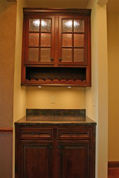 Built In Dry Bar Cabinets | Dry And Wet Bars Photo Gallery   Dombeck Custom  Cabinets