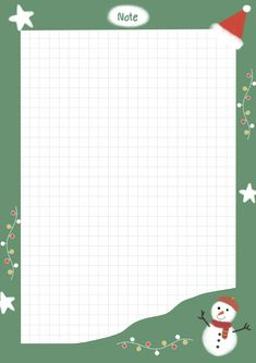Cute Notes, Good Notes, Christmas Wallpaper Free, Memo Notepad, Flower Background Wallpaper, Notes Template, Journal Paper, Note Paper, Writing Paper