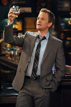 Barney Stinson♥ (Neil Patrick Harris), How I Met Your Mother Neil Patrick Harris, How I Met Your Mother, Ted Mosby, Montgomery Clift, Marlon Brando, Sean Connery, Steve Mcqueen, Dean Martin, Clint Eastwood